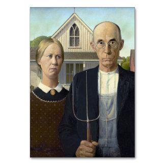 グラント・ウッド著アメリカのゴシック様式絵画 カード