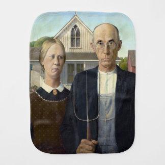 グラント・ウッド著アメリカのゴシック様式絵画 バープクロス