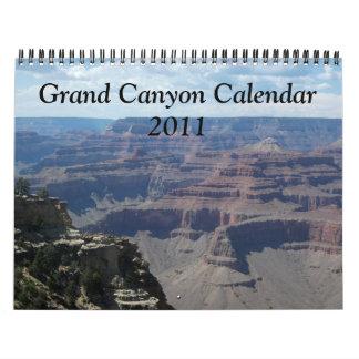 グランドキャニオンのカレンダー カレンダー