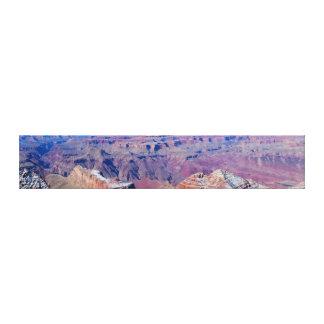 グランドキャニオンのパノラマの壁掛け キャンバスプリント