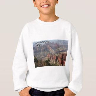 グランドキャニオンの北の縁、アリゾナ、米国2 (キャプション) スウェットシャツ