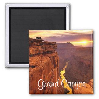 グランドキャニオンの国立公園のアリゾナの日没の磁石 マグネット