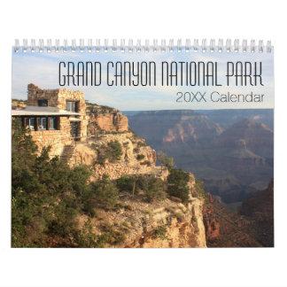 グランドキャニオンの国立公園の写真撮影 カレンダー