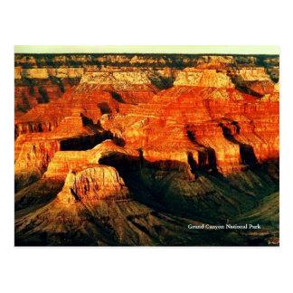 グランドキャニオンの国立公園の郵便はがき ポストカード