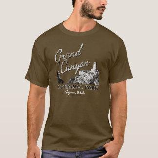 グランドキャニオンの国立公園のTシャツ Tシャツ