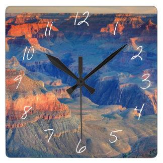 グランドキャニオンの国立公園、AZ スクエア壁時計