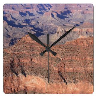グランドキャニオンの時計(着色される明るい) スクエア壁時計