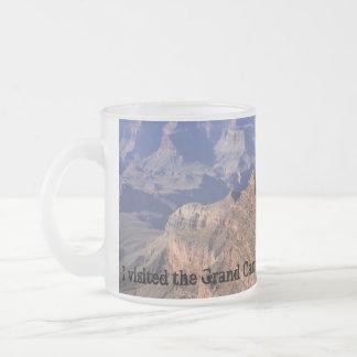 グランドキャニオンの曇らされたマグ フロストグラスマグカップ