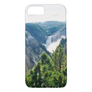 グランドキャニオンイエローストーンは滝を下げます iPhone 8/7ケース