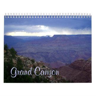 グランドキャニオン17か月のカレンダー カレンダー
