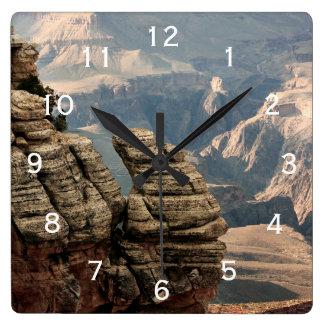グランドキャニオン、アリゾナ スクエア壁時計