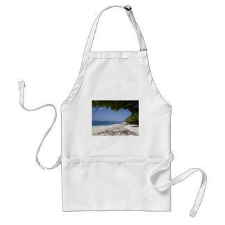 グランドケイマンのビーチ スタンダードエプロン