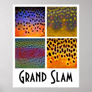 グランドスラムのマスポスター ポスター