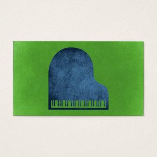 グランドピアノの青 名刺