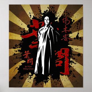 グランドマスターIpの人-翼Chun Kung Fu ポスター