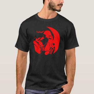 グラーフのマスクの暗い色 Tシャツ