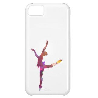 グリッターのダンスのシルエットの箱 iPhone5Cケース