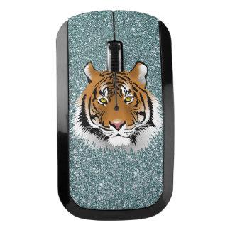 グリッターのトラ ワイヤレスマウス