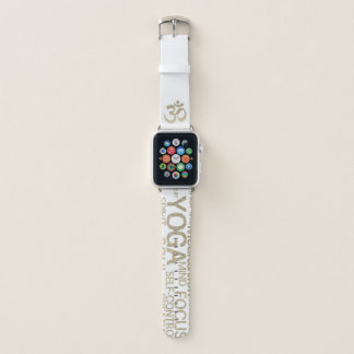 グリッターのヨガのAppleの時計バンド Apple Watchバンド