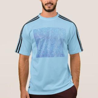 グリッターの光沢がある贅沢なカラフル Tシャツ