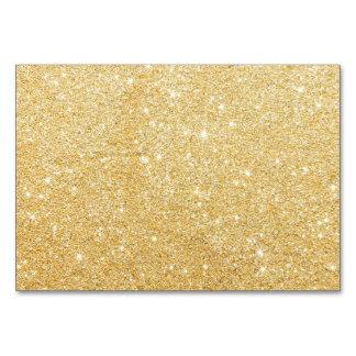 グリッターの光沢がある贅沢な金 カード