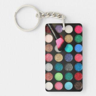 グリッターの化粧Keychain キーホルダー