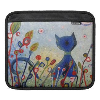 グリッターの子猫のiPadカバー iPadスリーブ