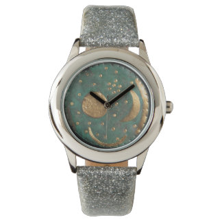 グリッターの日曜日のその月はすべて空の腕時計を主演します 腕時計