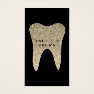 グリッターの歯科名刺 名刺