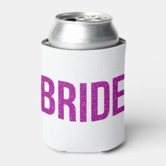 グリッターの花嫁のピンク 缶クーラー