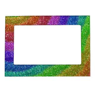 グリッターの虹 マグネットフレーム