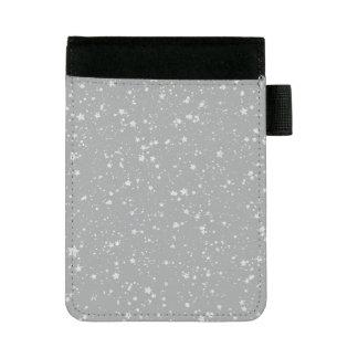 グリッターStars4 -銀 ミニパッドフォリオ