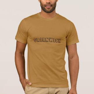 グリニッジのワイシャツの都市 Tシャツ