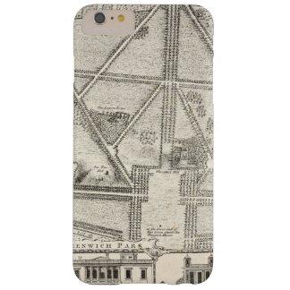 グリニッジ公園の地図 BARELY THERE iPhone 6 PLUS ケース