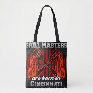 グリルのマスターはシンシナチオハイオ州で生まれます トートバッグ