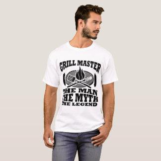 グリルのマスター人神話伝説 Tシャツ