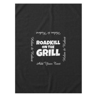 グリルのRoadkill -おもしろいなBBQのパーティ テーブルクロス