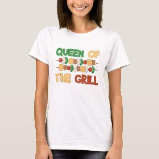 グリルBBQの焼串の女王 Tシャツ