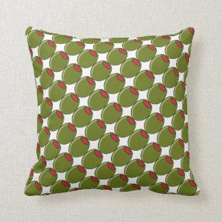 グリーンオリーブの枕 クッション