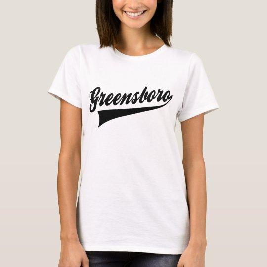 グリーンズバラ Tシャツ