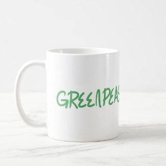 グリーンピースのマグ コーヒーマグカップ