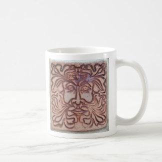 グリーンマン コーヒーマグカップ