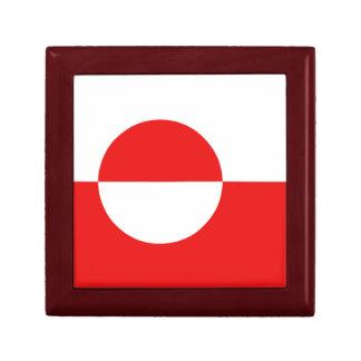 グリーンランドの旗のギフト用の箱 ギフトボックス