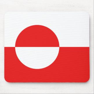 グリーンランドの旗のマウスパッド マウスパッド