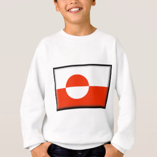 グリーンランドの旗 スウェットシャツ