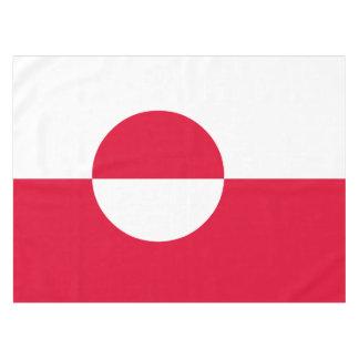 グリーンランドの旗 テーブルクロス