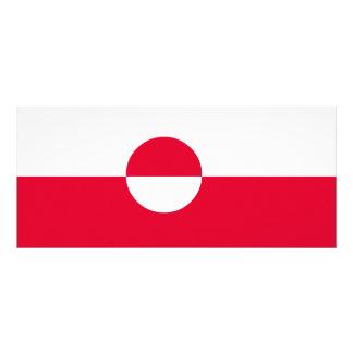 グリーンランドの旗 ラックカード