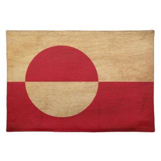 グリーンランドの旗 ランチョンマット