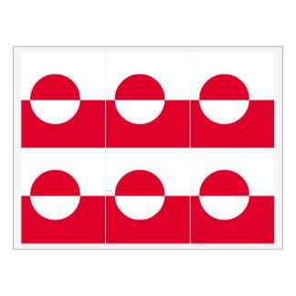 グリーンランドの旗 ワインラベル
