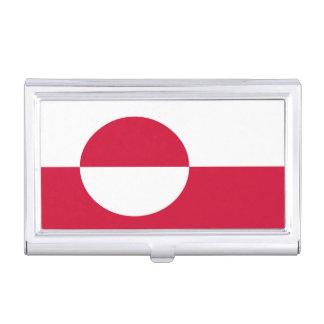 グリーンランドの旗 名刺入れ